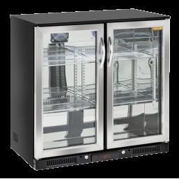 Back Bar kjøleskap glassdør 208l.