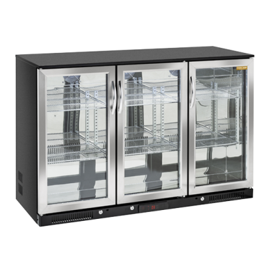 Back Bar kjøleskap glassdør 322l.