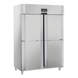 Kjøleskap 1105 l. INOX QRM14