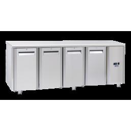 Frysebenk 410 l. INOX QN4100SG
