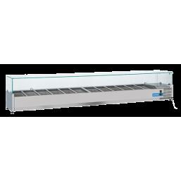 Kjølemonter 108l. INOX VRX25/38