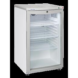 Underbenk kjøleskap 115 L. med glassdør