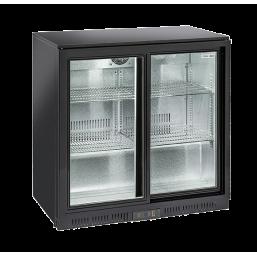Back Bar kjøleskap glassdør 200l.