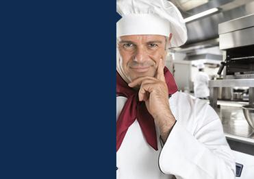 Kjøl og frys til profesjonelt storkjøkken